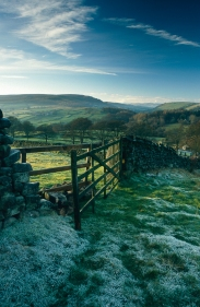 A frosty morning in Wharfedale