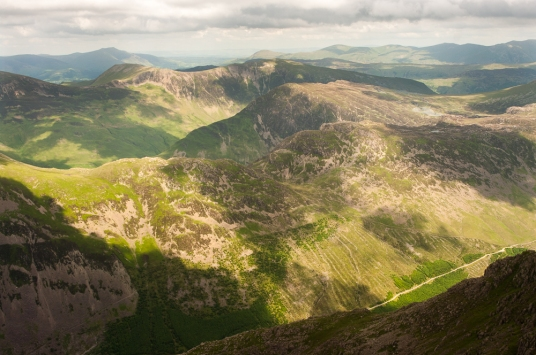Haystacks and Ennerdale from Pillar