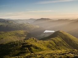 Red Screes Sunrise