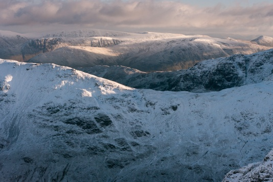 Deepdale Hause from Dollywagon Pike