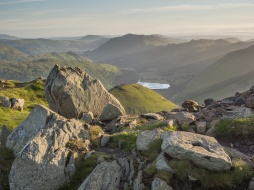 Summit rocks on Red Screes