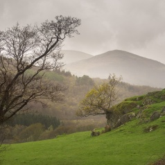 A view of the lower Duddon Valley looking north.