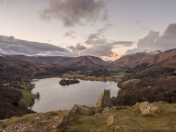 From Loughrigg Fell looking north
