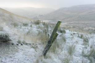 A hard frost in the South Pennines