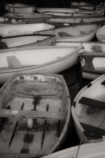 A jumble of boats on the Yealm at Newton Ferrers, South Devon