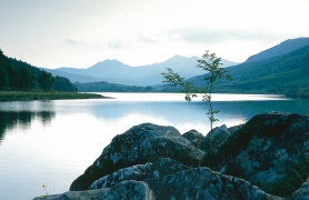 The snowdon horseshoe seen from Capel Curig